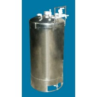 35 Gallon Teflon Lined Stainless Steel Tank 07492