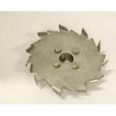 Austenitic Stainless Steel Open Radial Flow Impeller 07363