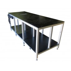 Heavy Duty table with t slotted aluminum extrusion framing 13111